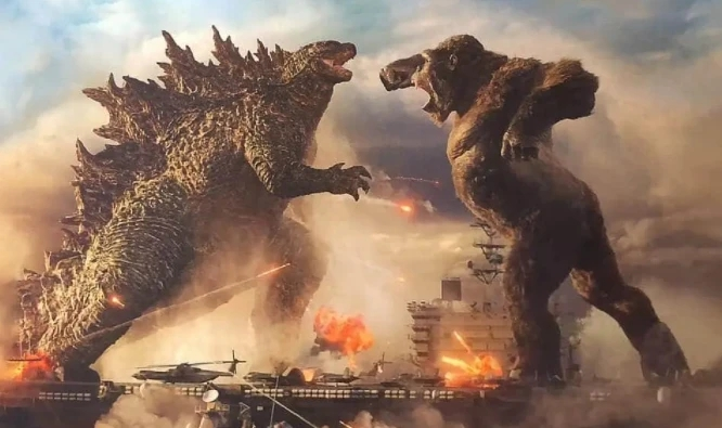 上映两天票房破3亿,影史级《动物世界》,哥斯拉和金刚谁更强?